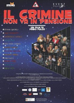 locandina del film IL CRIMINE NON VA IN PENSIONE