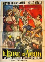 locandina del film IL LEONE DI AMALFI