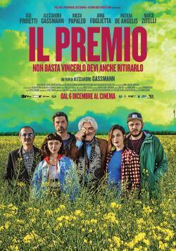 locandina del film IL PREMIO - NON BASTA VINCERLO DEVI ANCHE RITIRARLO