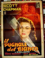 locandina del film IL PUGNALE DEL BIANCO