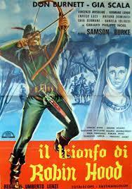 locandina del film IL TRIONFO DI ROBIN HOOD