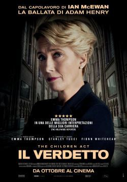 locandina del film IL VERDETTO - THE CHILDREN ACT