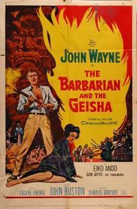 locandina del film IL BARBARO E LA GEISHA