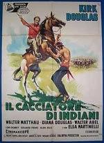 locandina del film IL CACCIATORE DI INDIANI