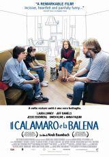 locandina del film IL CALAMARO E LA BALENA