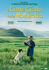 locandina del film IL CANE GIALLO DELLA MONGOLIA