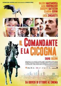 locandina del film IL COMANDANTE E LA CICOGNA