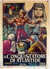 locandina del film IL CONQUISTATORE DI ATLANTIDE