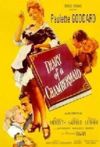 locandina del film IL DIARIO DI UNA CAMERIERA (1946)