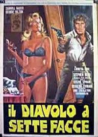 locandina del film IL DIAVOLO A SETTE FACCE