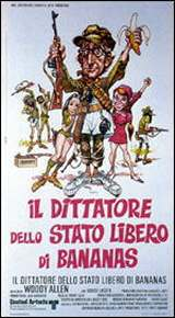 locandina del film IL DITTATORE DELLO STATO LIBERO DI BANANAS
