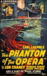 locandina del film IL FANTASMA DELL'OPERA (1925)