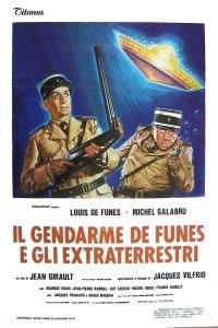 locandina del film IL GENDARME E GLI EXTRATERRESTRI