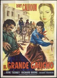 locandina del film IL GRANDE GAUCHO