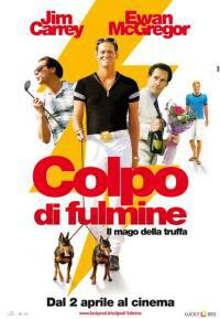 locandina del film COLPO DI FULMINE - IL MAGO DELLA TRUFFA