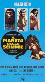 locandina del film IL PIANETA DELLE SCIMMIE (1968)