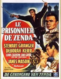 locandina del film IL PRIGIONIERO DI ZENDA (1952)