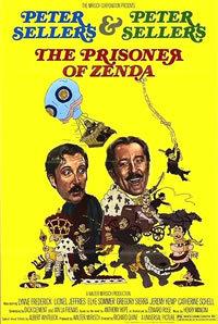 locandina del film IL PRIGIONIERO DI ZENDA (1979)