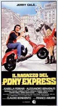 locandina del film IL RAGAZZO DEL PONY EXPRESS