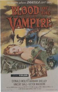 locandina del film IL SANGUE DEL VAMPIRO