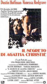 locandina del film IL SEGRETO DI AGATHA CHRISTIE