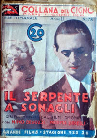 locandina del film IL SERPENTE A SONAGLI