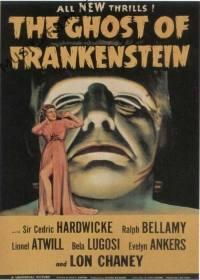 locandina del film IL TERRORE DI FRANKENSTEIN