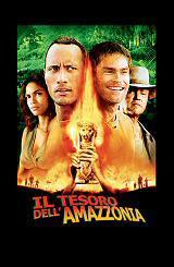 locandina del film IL TESORO DELL'AMAZZONIA