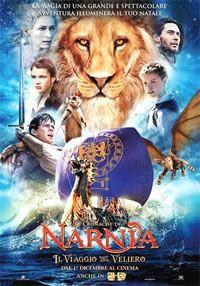 locandina del film LE CRONACHE DI NARNIA - IL VIAGGIO DEL VELIERO