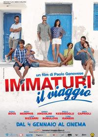 locandina del film IMMATURI - IL VIAGGIO