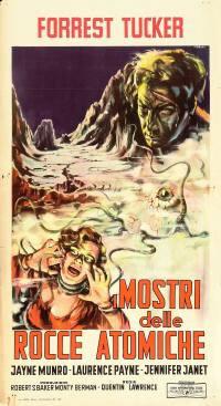 locandina del film I MOSTRI DELLE ROCCE ATOMICHE