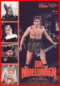 locandina del film I NIBELUNGHI (1967)