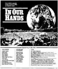 locandina del film IN OUR HANDS