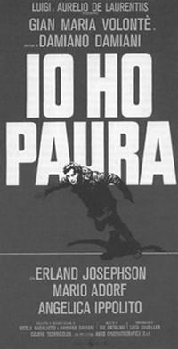 locandina del film IO HO PAURA