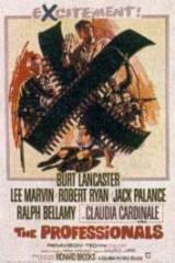 locandina del film I PROFESSIONISTI