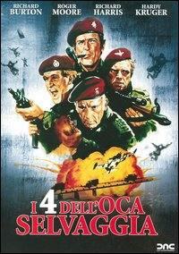 locandina del film I QUATTRO DELL'OCA SELVAGGIA