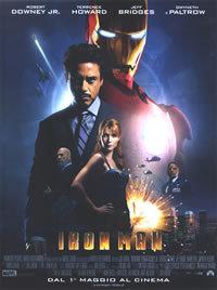 locandina del film IRON MAN