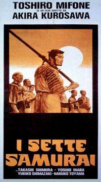 locandina del film I SETTE SAMURAI