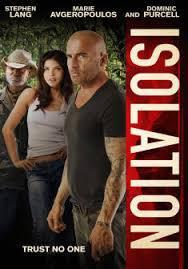 locandina del film ISOLATION - PERICOLO ALLE BAHAMAS