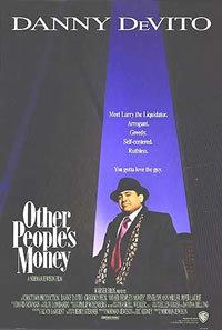 locandina del film I SOLDI DEGLI ALTRI (1991)