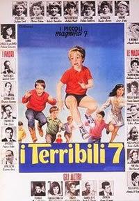 locandina del film I TERRIBILI SETTE