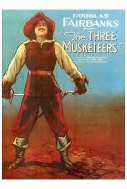 locandina del film I TRE MOSCHETTIERI (1921)