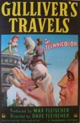 locandina del film I VIAGGI DI GULLIVER (1939)