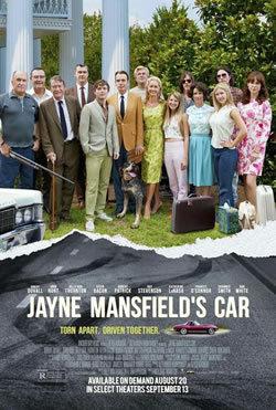 locandina del film JAYNE MANSFIELD'S CAR - L'ULTIMO DESIDERIO