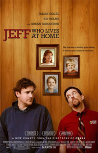 locandina del film JEFF WHO LIVES AT HOME