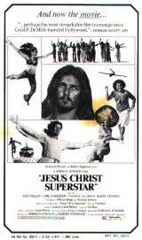 locandina del film JESUS CHRIST SUPERSTAR