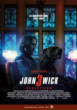 locandina del film JOHN WICK 3 - PARABELLUM