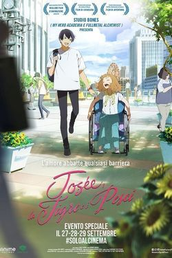 locandina del film JOSEE, LA TIGRE E I PESCI