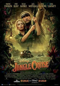 locandina del film JUNGLE CRUISE