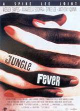 locandina del film JUNGLE FEVER